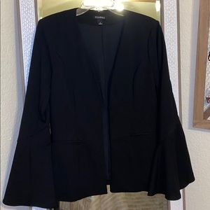 Brand new black blazer w/ bell sleeves